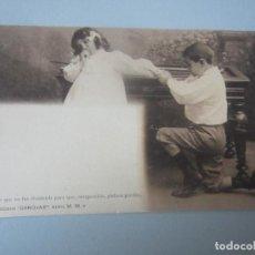 Postales: POSTAL NIÑOS REVERSO SIN DIVIDIR. Lote 146544118