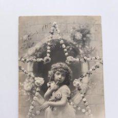 Postales: ANTIGUA TARJETA POSTAL - 1912 NIÑA CHICA - FAUVETTE 1105 . Lote 146890438