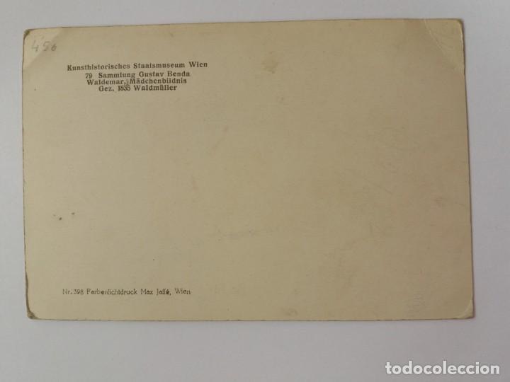 Postales: ANTIGUA TARJETA POSTAL - ALEMANIA - RETRATO NIÑA - GUSTAV BENDA - Foto 2 - 146909150