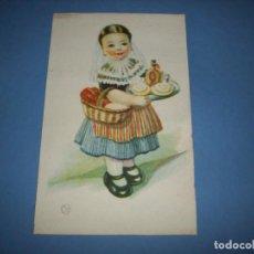 Postales: POSTAL REGIONALES INFANTILES ILUSTRADORA GIRONA BALEARES. Lote 148201494