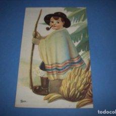 Postales: POSTAL REGIONALES INFANTILES ILUSTRADORA GIRONA CANARIAS. Lote 148201662