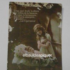 Postales: POSTAL DE NIÑOS. DÜMMATZEN. 1916. CIRCULADA. CCTT. Lote 149927882
