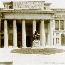 Postais: FOTOGRAFIA ESTEREOSCOPICA DE CRISTAL, MADRID, MUSEO DEL PRADO, AÑOS 1920 APROX. MIDE 13 X 6 CMS. POS. Lote 153199662