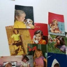 Postales: POSTALES INFANTILES DE FELICITACIÓN CIRCULADAS. Lote 154003334