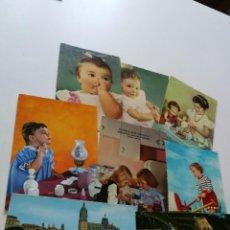 Postales: POSTALES INFANTILES DE FELICITACIÓN CIRCULADAS. Lote 154004234
