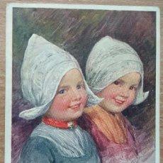 Postales: POSTAL DE 1919 DIRIGIDA A LA CONOCIDA EMMA BOUHON NEVES. Lote 154778346