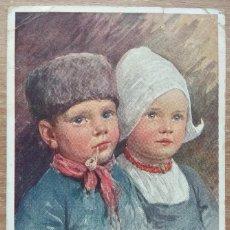 Postales: POSTAL DE 1919 DIRIGIDA A LA CONOCIDA EMMA BOUHON NEVES. Lote 154779078