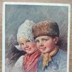 Postales: POSTAL DE 1919 DIRIGIDA A LA CONOCIDA EMMA BOUHON NEVES. Lote 154779318