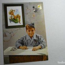 Postales: `POSTAL NIÑO SOLDADO -ESCRITA. Lote 156807378