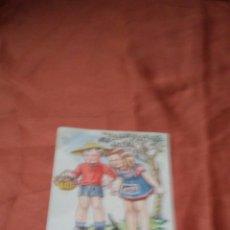 Postales: ANTIGUA POSTAL INFANTIL AÑOS 50. Lote 159381850