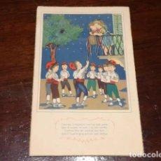 Postales: POSTAL POEMES I CANÇONS-COL·LECCIÓ A DE CINC POSTALS-IV- LA NIT DE L'AMOR -CIRCULADA-EDIT ARTIGAS. Lote 160407262
