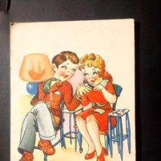 Postales: POSTAL EDICIONES TRÍO, 1944, SERIE P, MANICURA BONITA.... . Lote 161055218