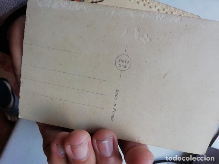 Postales: TARJETA POSTAL PRINCIPIOS SIGLO XX ORIGINAL EDICIONES PC PARIS FRANCESAS 1935 - Foto 3 - 168403420