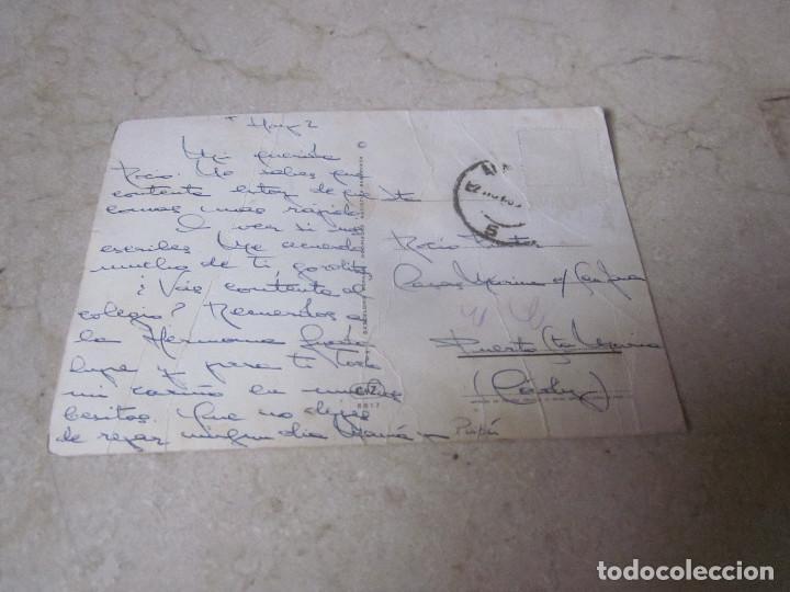 Postales: POSTAL ESCRITA AÑOS 60 NIÑA CON PERRO - Foto 2 - 168877392