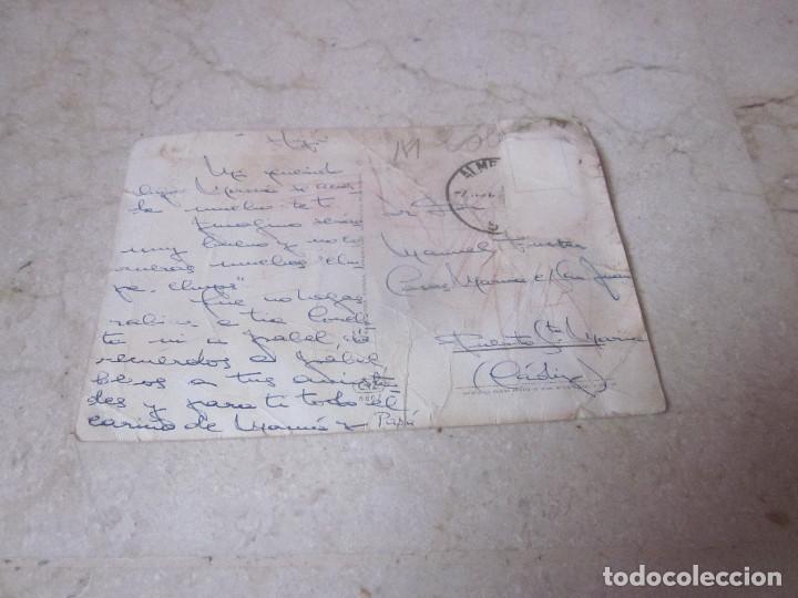 Postales: POSTAL ESCRITA AÑOS 60 NIÑO CON PERRO - Foto 2 - 168878780