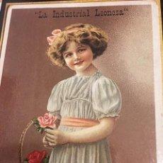 Postales: POSTAL CHOCOLATES LA INDUSTRIAL LEONESA. Lote 170527808