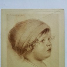 Postales: POSTAL DIBUJO CARA DE BEBE - WALTER SCHACHINGER, Nº 194. Lote 170952125