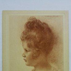 Postales: POSTAL DIBUJO CARA DE BEBE - WALTER SCHACHINGER, Nº 201. Lote 170952275