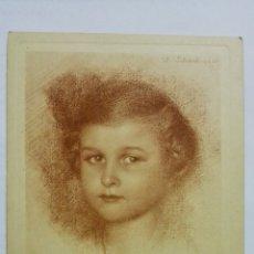 Postales: POSTAL DIBUJO CARA DE BEBE - WALTER SCHACHINGER, Nº 195. Lote 170952355