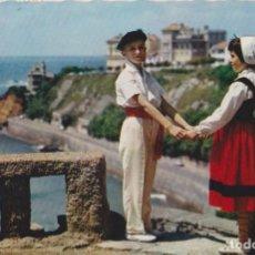 Postales: POSTAL ROMÁNTICA PAIS VASCO - LUMICAP Nº 736 - CIRCULADA. Lote 171702358