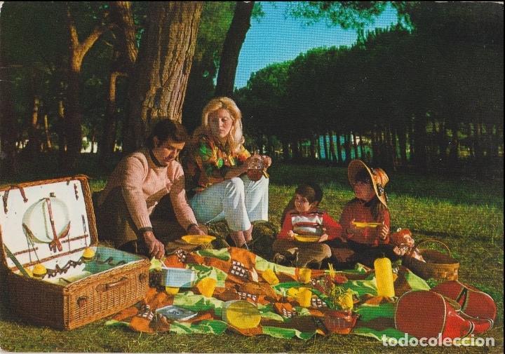 POSTAL ROMÁNTICA AÑOS 60 - ED. BEASCOA 29265-4 - ESCRITA (Postales - Postales Temáticas - Niños)