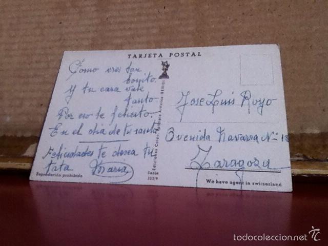 Postales: Postal. Niños con un pastel. Serie 323/9 - Foto 2 - 171734772