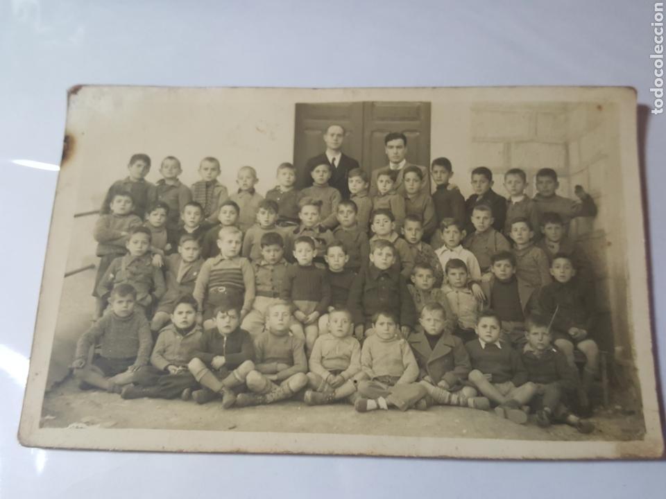 ANTIGUA POSTAL. ESCUELA DE NIÑOS. POSIBLEMENTE HACIA 1920 (Postales - Postales Temáticas - Niños)
