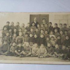 Postales: ANTIGUA POSTAL. ESCUELA DE NIÑOS. POSIBLEMENTE HACIA 1920. Lote 171829980