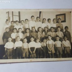 Postales: ANTIGUA POSTAL. ESCUELA DE NIÑOS. HACIA 1920. Lote 171830052