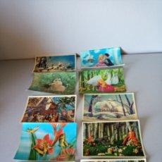 Postales: LOTE DE 10 POSTALES 3D ESTEREOSCOPICAS RELIEVE, SIN CIRCULAR. Lote 173393085