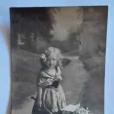 Postales: ANTIGUA FOTO POSTAL ESCRITA Y CIRCULADA CON SELLO 1912. Lote 174309155