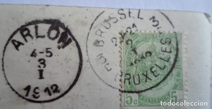 Postales: ANTIGUA FOTO POSTAL ESCRITA Y CIRCULADA CON SELLO 1912 - Foto 3 - 174309155