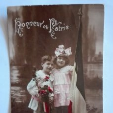 Postales: ANTIGUA FOTO POSTAL, ESCRITA, CIRCULADA CON SELLO 1912. Lote 174309340