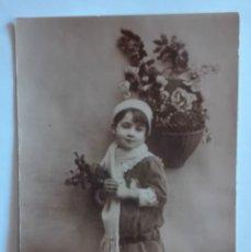 Postales: ANTIGUA FOTO POSTAL, ESCRITA, CIRCULADA CON SELLO 1921. Lote 174309579