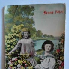 Postales: ANTIGUA FOTO POSTAL COLOREADA CIRCULADA CON SELLO EN 1909. Lote 174309665