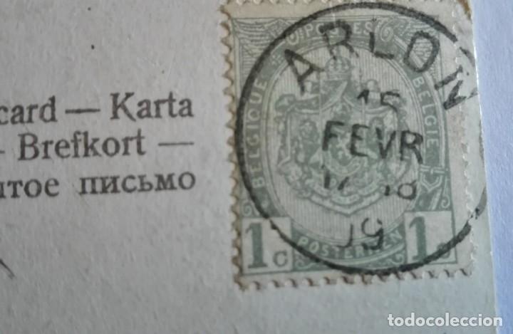 Postales: ANTIGUA FOTO POSTAL COLOREADA CIRCULADA CON SELLO EN 1909 - Foto 3 - 174309665