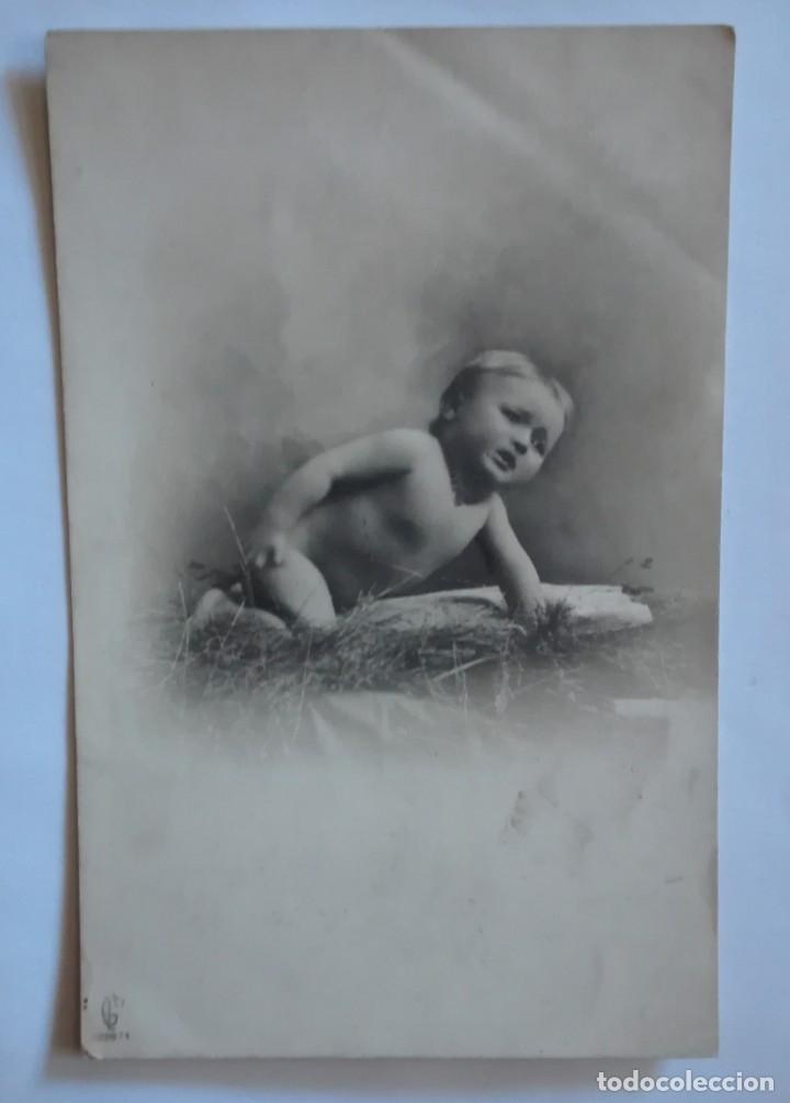 ANTIGUA FOTO POSTAL PRINCIPIOS SIGLO XX SIN CIRCULAR (Postales - Postales Temáticas - Niños)