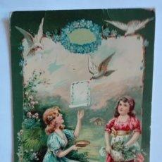 Postales: ANTIGUA POSTAL DE AMITIE, ESCRITA SIN SELLO. Lote 174310052
