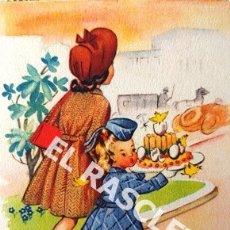 Postales: ANTIGUA POSTAL COLOR FECHADA 1968. Lote 174592077