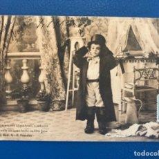 Postales: ANTIGUA POSTAL SERIE C LA TOILETTE DE LUISIN N 9 E GONZALEZ HAUSER Y MENET SIN DIVIDIR 1903. Lote 176538277