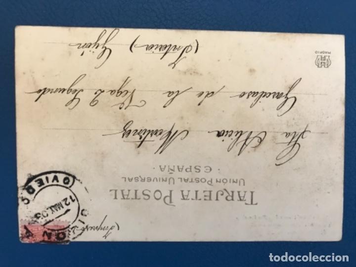 Postales: Antigua postal serie c la toilette de luisin n 10 E gonzalez hauser Y MENET sin dividir 1903 - Foto 2 - 176539980