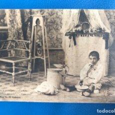 Postales: ANTIGUA POSTAL SERIE C LA TOILETTE DE LUISIN N 2 E GONZALEZ HAUSER Y MENET SIN DIVIDIR 1903. Lote 176539842