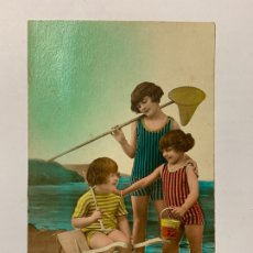 Postales: POSTAL INFANTIL COLOREADA. EDITORIAL SAPI 2353. ESCRITA.. Lote 177045488