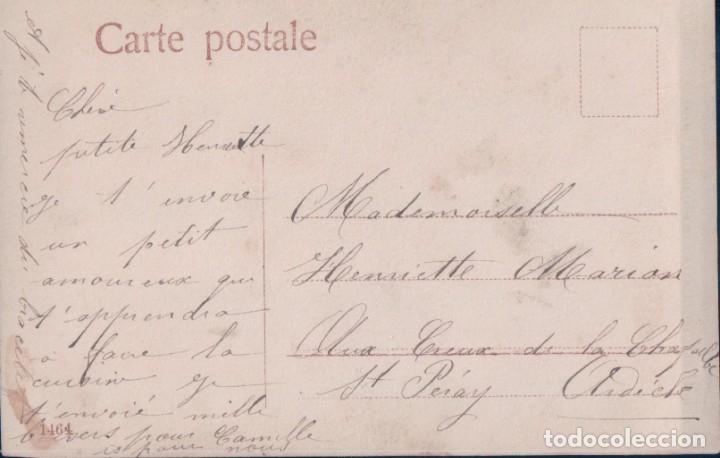 Postales: POSTAL PAREJAS NIÑOS - A LA CUISINE - EAS - COCINERO 1464 - Foto 2 - 177366587