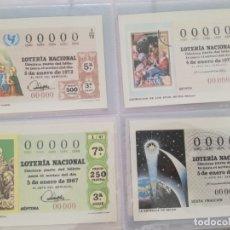 Postales: DECIMOS SORTEO DEL NIÑO.. Lote 177606688