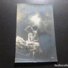 Postales: BEBE CON PADRES POSTAL. Lote 177802989