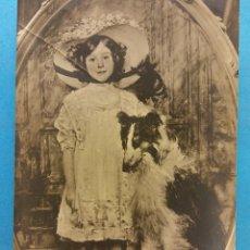 Postales: POSTAL Nº 219. SALON 1909. BONNOTTE (E.L.). PORTRAIT DE MLLE Z. NUEVA. Lote 179386195