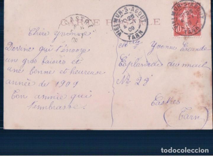 Postales: POSTAL NIÑA CON UN GATO - Foto 2 - 180200532