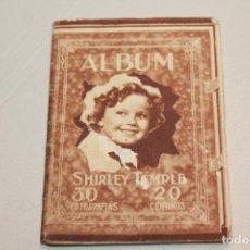Postales: ÁLBUM SHIRLEY TEMPLE Nº 2. 30 FOTOGRAFÍAS EN ACORDEÓN. INFORMACIÓN Y 15 FOTOS.. Lote 180456772