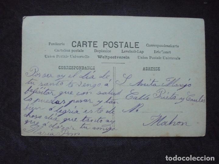 Postales: Postal prin 1900 Niños con padres - Foto 2 - 182746200